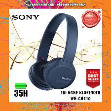 Mã ELMS5 giảm 7% đơn 300K] Tai Nghe Chụp Tai Bluetooth Sony WH-CH510 -  Chính Hãng Sony Việt Nam - Bảo Hành 12 Tháng giá cạnh tranh