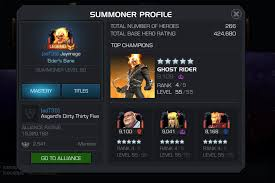 Want Opinions Whether To R5 5 Ghost Rider Marvel Contest