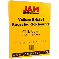 Jam Paper 8 5 X 11 Vellum Bristol 67 Lb Cover Cardstock