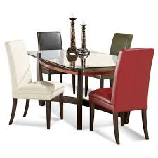 table glass dining room contemporary round table dinette table glass dining table with wooden legs glass top pedestal dining