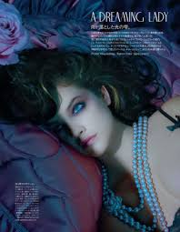 Stylist: Spela Lenarcic Hair: Kerry Warn Make-up: Lloyd Simmonds Model: ? (Barbara Palvin?) - OBMjs5UG