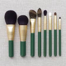 8pcs professional makeup brushes set goat squirrel horse hair make up cosmetic tools powder blush sculpting