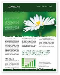 Spring Newsletter Templates In Microsoft Word Adobe