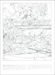 Nature Coloring Pages Free Printable Waterfall Coloring Pages