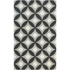 bowery canarsie charcoal grey 8 ft x 11 ft area rug