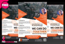 Business Flyer Template Free Download Corporate Business Flyer Psd Template Freedownloadpsd Com