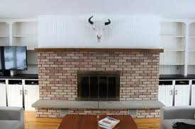 brass fireplace gets spray painted
