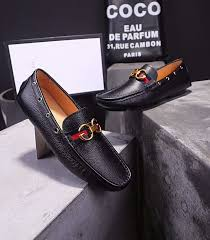 high quality gucci golden g buckle web detail mens calfskin leather driver loafers