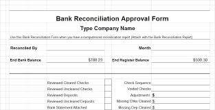 bank reconciliation form assets cash and banking control forms what are internal controls