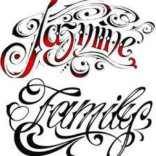Tetování Písmo Slunečnicecz