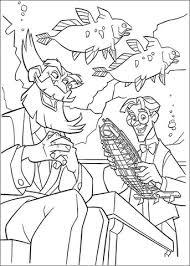 Milo James Thatch Heeft Een Schaalmodel Van Ulysses Onderzeeër