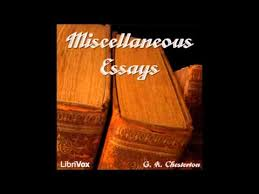 miscellaneous essays audiobook by g k chesterton  miscellaneous essays audiobook by g k chesterton