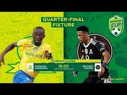 Football #futbol #futebol nedbank cup quarterfinal '14   mamelodi sundowns vs orlando pirates. L6uuu2mudcoedm