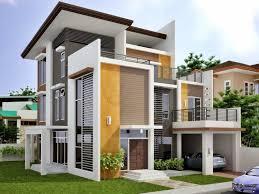 House Exterior Color Design - Modern houses interior and exterior