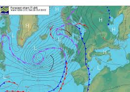 surface pressure charts weather advisory for sunday 27th monday 28th october