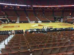 Frank Erwin Center Section 49 Texas Basketball