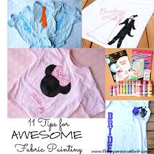 11 tips for awesome fabric painting from it happens in a blink