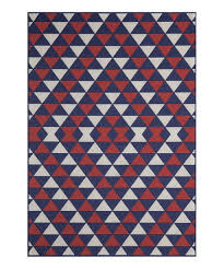 love this product red blue triangle baja indoor outdoor rug