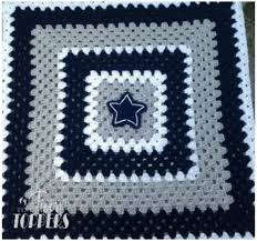 Crochet Dallas Cowboys Blanket Pattern