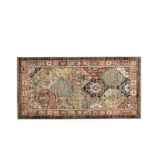 patchwork medallion multi 2 ft x 4 ft area rug