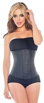 Colombian Waist Trainer Size Chart Waist Trainer Corset Long Torso With Three Rows Of Hooks