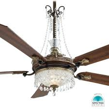 chandelier ceiling fan spectra crystal kit minka aire replacement parts glass