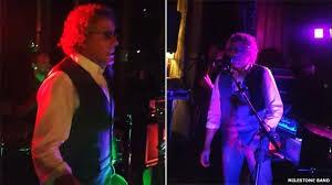 The Who star <b>Roger Daltrey</b> crashes wedding - BBC News