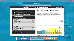 then on the right side you ll see a profile of the workout you ll also note a small text box that allows you to specify your ftp functional threshold