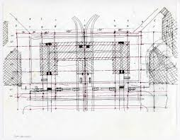 architectural design drawing. Architectural Design Drawing: San Francisco International Airport (SFO), Terminal Drawing I