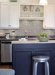 kitchen backsplash glass tile blue. Kitchen Blue Backsplash Shocking Navy And White Tile Bathroom Wall Glass Mosaic Of T