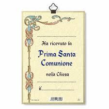 first communion memory woodcut diploma italian online s  first communion memory woodcut diploma italian