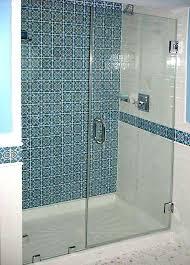 installing a shower door on a fiberglass shower cost of installing glass doors for shower useful
