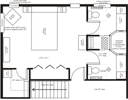 Master Bedroom Addition Floor Plans His Her Ensuite Layout