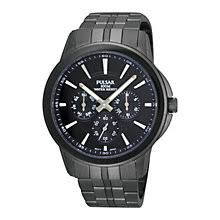 pulsar watches h samuel pulsar men s ion plated bracelet watch product number 9191054