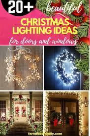 Best Christmas Window Lights 20 Best Christmas Door And Window Lighting Decorating Ideas