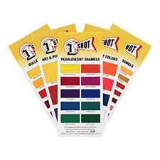 1 Shot Color Chart Set