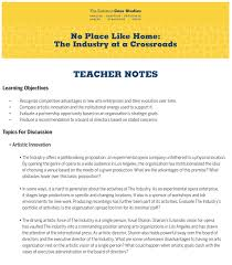 eastman case studies industry case study sample industry teacher notes sample industry