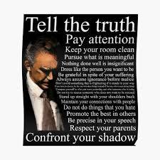 Jordan Petersons Advice Poster