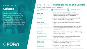 your people make your company popin this recipe has a cook time of 7 weeks ingredients of 8 questions and can serve any enterprise