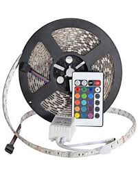 remote control color changing led tape strip light complete kit rgb