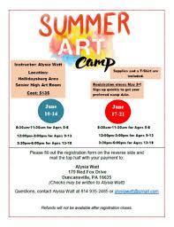 Alysia Watt's Summer Art Camp - Photos | Facebook