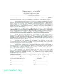 Mutual Confidentiality Agreement Impressive Financial Non Disclosure Agreement Template Calvarychristian