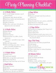 Party Planner Checklist Awesome 11 Best Event Party Planning Images