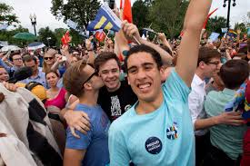 gay marriage us supreme court ruling president obama s  supporters of same sex marriage celebrate outside of the supreme court in washington on