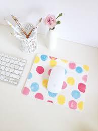 confetti mouse pad via makeandtell