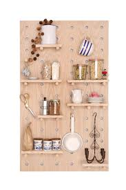 Pegboard Kitchen Peg Wall Pegboard Feature Wall Wall Decor Open Shelving