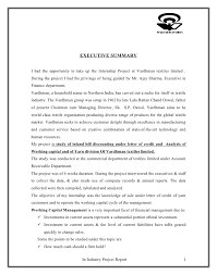 Credit Memo Letter Custom Project On Letter Of Credit And Working Capital