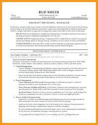 Aircraft Mechanic Resume Template 38 Printable Aircraft Technician