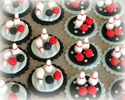 Bowling Cupcake Decorations Ten Pin Bowling Birthday Cake Cakes Pinterest Birthday Cakes 2