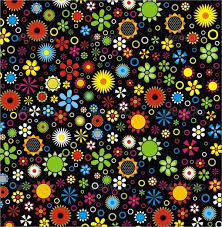 colorful flower patterns. Simple Colorful Color Flower Pattern Inside Colorful Patterns